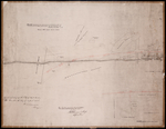Plan Shewing the Northern Boundary Line of the Victoria Park Roadway as Surveyed by Thomas W. May L. S.