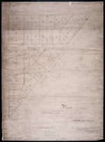 Plan of St. Avard's divided into Building Lots part of the Estate of the Honble. James C. Pope in the Royalty of the City of Charlotte Town