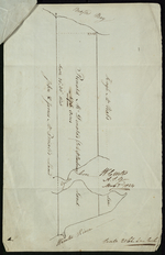 Plan of Ronald McDonalds Land of Grand Tracadie For The Surveyors Generals Office