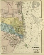 Map of the City of Halifax