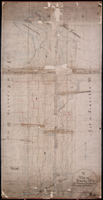 Plan of Township No. 34, The Property of Sir Graham Montgomery & Brothers Situate in Queens County in Prince Edward Island, Ture Copy from Daniel Hickey's