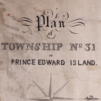 Plan of Township No. 31 in Prince Edward Island