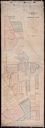This is the Plan of Township No. 24 in Prince Edward Island