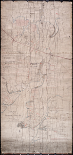 Plan of Township Number 10. Surveyed by John Ball, L. S.