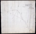 Plan of proposed new road straightening Rollo Bay Road, through the farms of Chas. Townshend and Jos. Webster