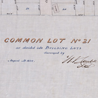 Common Lot No 21 as divided into Building Lots