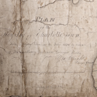 Plan of the Royalty of Charlottetown: from a survey taken in the year 1831 by Order of His Excellency Lieutenant Governor Ready