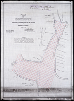 Plan of Dockriver: Showing Subdivisions to be leased for Oyster Culture