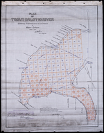 Plan of Trout or Lot 10 River: showing subdivisions to be leased for Oyster Culture