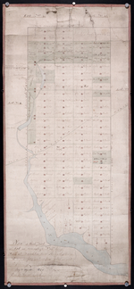 Plan of that part of Lot or Township No. 55, lying North: lying North of Boughton River shewing the situation of the respective