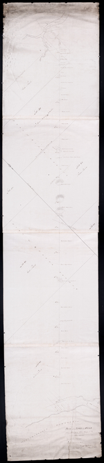 Plan of a Line of Road from Montague River Bridge to Wood Islands: Run in November 1833