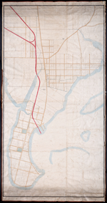 Unfinished plan of Alberton and Cascumpec Point, Lots 4 and 5