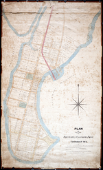 Plan of Town Lots at Cascumpec Point. Township No. 5.